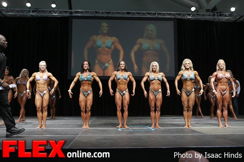 Comparisons - Women's Physique - 2013 Toronto Pro