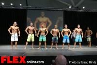 Comparisons - Men's Physique - 2013 Toronto Pro