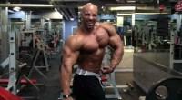 Juan Morel Posing 2 Weeks from 2013 New York Pro