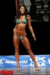 Angelika Perez - Bikini Class C - NPC Junior USA's