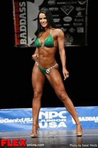 Siliana Gaspard - Bikini Class D - NPC Junior USA's
