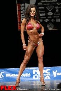 Michelle Ackerman - Bikini Class D - NPC Junior USA's