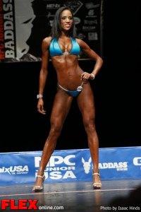 Asia Mendoza - Bikini Class F - NPC Junior USA's