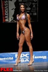 Vanessa Albarran - Bikini Class F - NPC Junior USA's