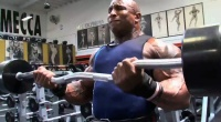 Keith Williams Arm Workout for NY Pro with Mike Gritti