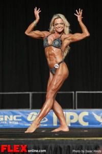 Jennifer Underwood-Kallas - Women's Physique C - 2013 JR Nationals