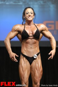Michelle Cummings - Women's Bodybuilding - 2013 Toronto Pro