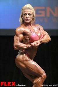 Anne Freitas - Women's Bodybuilding - 2013 Toronto Pro