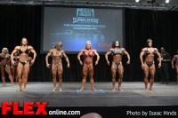 Comparisons - Women's Bodybuilding - 2013 Toronto Pro