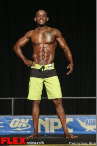 Godwin Odior - Men's Physique E - 2013 JR Nationals