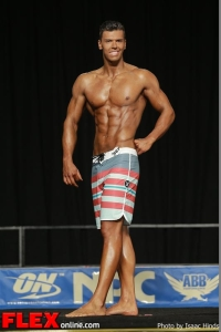Dustin Pederson - Men's Physique F - 2013 JR Nationals