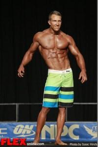 Matt Pattison - Men's Physique F - 2013 JR Nationals