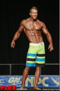 Matt Pattison - Men's Physique F - 2013 JR Nationals