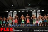 Comparisons - Men's Physique F - 2013 JR Nationals