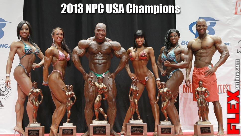 2013 NPC USA Championship Results