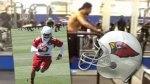 Arizona Cardinals' Robert Gill Runs 25 MPH on the Treadmill