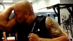 The Rock Flaunts Fitness in Funny Workout Video