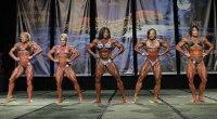 Comparisons - Women's Bodybuilding - 2013 Chicago Pro