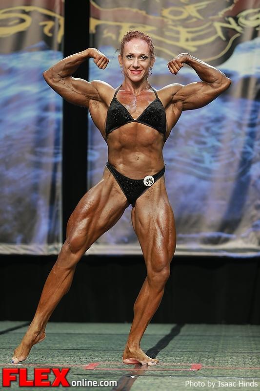 Natalia Batova - Women's Bodybuilding - 2013 Chicago Pro