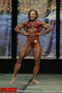 Juanita Blaino - Women's Bodybuilding - 2013 Chicago Pro