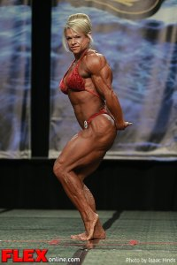 Tina Chandler - Women's Bodybuilding - 2013 Chicago Pro
