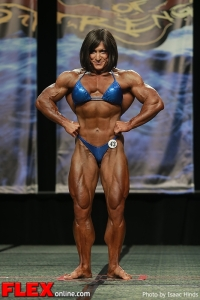 Christine Envall - Women's Bodybuilding - 2013 Chicago Pro