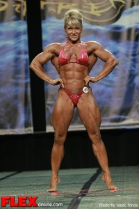 Emery Miller - Women's Bodybuilding - 2013 Chicago Pro