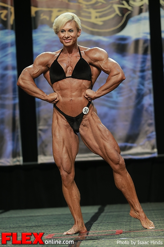 Sherry Smith - Women's Bodybuilding - 2013 Chicago Pro