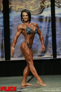 Nicole Ball - Women's Physique - 2013 Chicago Pro