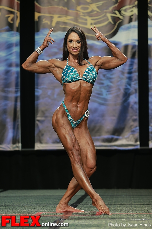 Andrea Holliday - Women's Physique - 2013 Chicago Pro