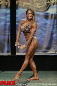 Leila Thompson - Women's Physique - 2013 Chicago Pro