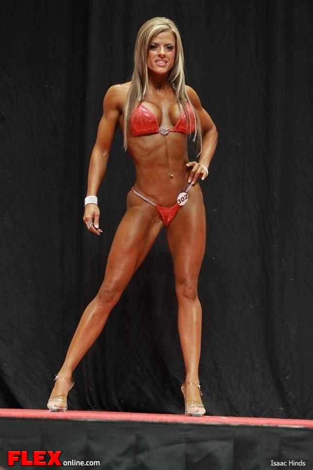 Kelly Dominick - Class D Bikini - 2013 USA Championships