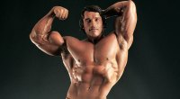 Arnold Schwarzenegger's Vacuum Pose