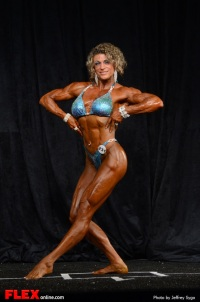 Tracy Weller - Women's Physique B Open - 2013 North American Championships
