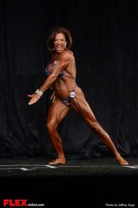 Kendel Dolen - Women's Physique C Open - 2013 North American Championships