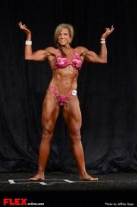 Danelle Dison - Women's Physique D Open - 2013 North American Championships