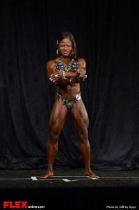 Rosela Joseph -  Women's Physique A Open - 2013 North American Chapionships