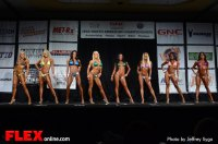 Comparison - Bikini D Open - 2013 North American Championships