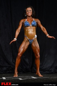Cathy Jackson - Women's Physique A +35 - 2013 North American Championships