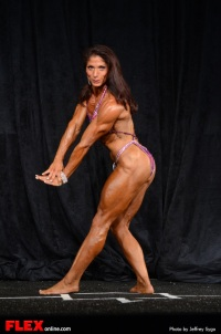 Lisa Grasso - Women's Physique B +45 - 2013 North American Championships