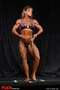 Lisa Stark -  Women's Physique A Open - 2013 North American Chapionships