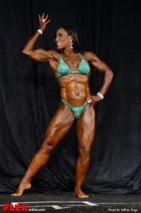 Alicia King - Women's Physique C Open - 2013 North American Championships
