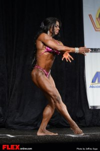 Tracy Hess - Women's Physique C +45 - 2013 North American Championships