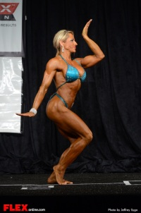 Tish Shelton -  Women's Physique A Open - 2013 North American Chapionships