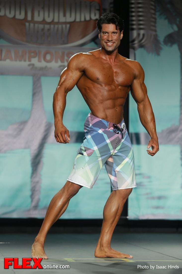Steve Mousharbash - 2013 Tampa Pro - Physique
