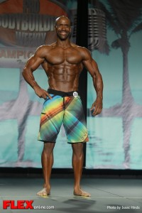 Derrick Wade - 2013 Tampa Pro - Physique