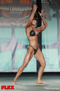 Laura Davies - 2013 Tampa Pro - Women's Physique