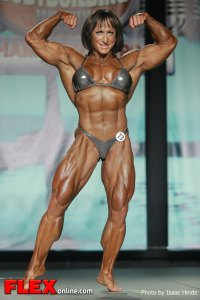 Christine Envall - 2013 Tampa Pro - Women's Bodybuilding