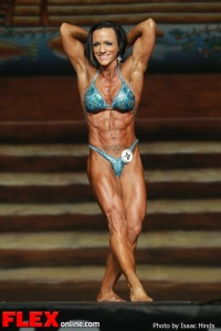 Ally Baker - IFBB Europa Supershow Dallas 2013 - Women's Physique