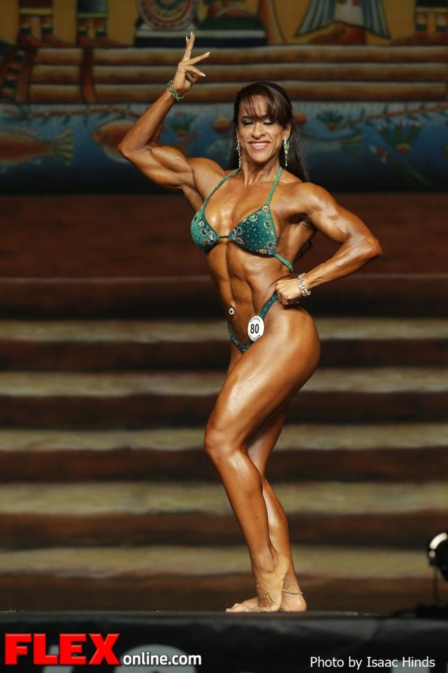 Myriam Bustamante - IFBB Europa Supershow Dallas 2013 - Women's Physique